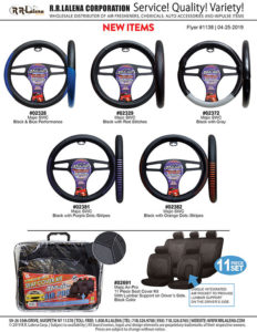 steering wheel covers and seat cover kit