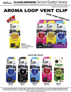 aroma loop vent clips