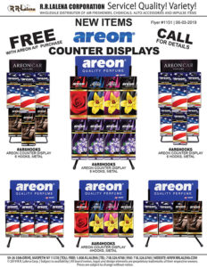 areon counter displays