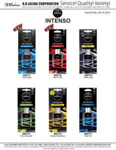 aroma intenso air fresheners