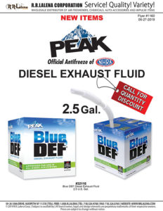 peak diesel exhaust fluid