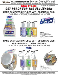 #1198 - Purell Portable Hand Sanitizers