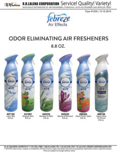 #1200 - Febreze 8.8 oz. Spray Air Fresheners