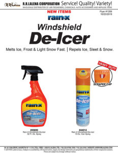 #1206 - Rain-X Windshield De-Icer