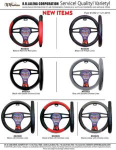 #1222 - Majic Steering Wheel Covers