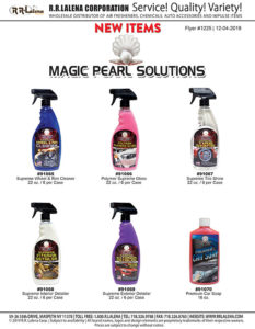 #1225 - Magic Pearl Solutions Car Wash Chemicals