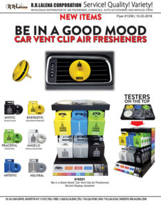 #1236 - Be In A Good Mood Vent Clip Air Fresheners