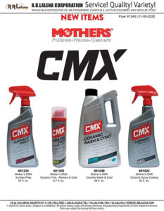 #1240 - Mother's CMX Ceramic Car Wash Chemicals