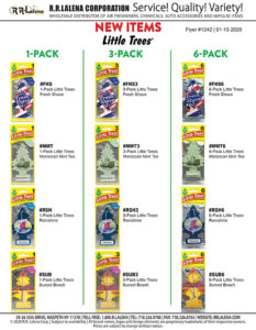 #1242 - Little Trees 1-Pack, 3-Pack, 6-Pack
