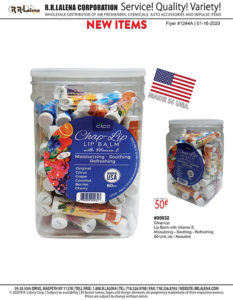 #1244a - Chap-Lip Care, 60-Unit Jar