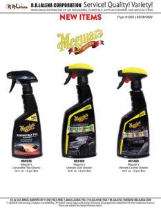 meguiar's chemicals