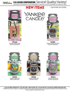 #1256 - Yankee Candle Air Fresheners