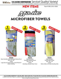 #1263 - Majic Heavy Duty Microfiber Towels