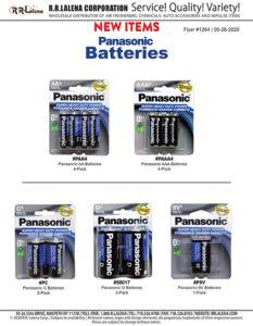 #1264 - Panasonic Batteries