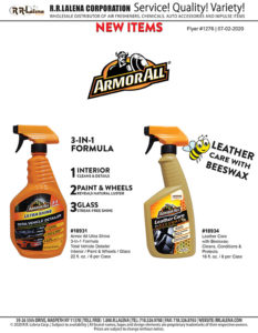 #1276 - Armor All Products