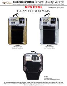 #1281a - Car Floor Mats