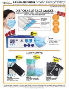 #1288 - Face Masks