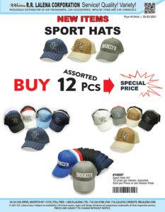 #1344a - Sport Hats
