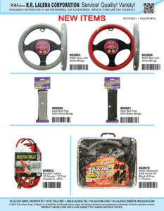 #1361a - SWCs, Seat Belt Pads, Booster Cables, Seat Cover Kit