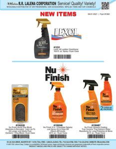 #1362 - Lexol & Nu Finish Car Care Products