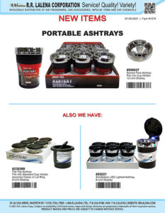#1370 - Portable Ashtrays