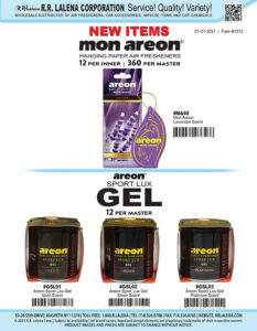 #1372 - Mon Areon and Areon Sport Lux Gel