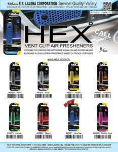 #1377 - Aroma Hex Vent Clip Air Fresheners