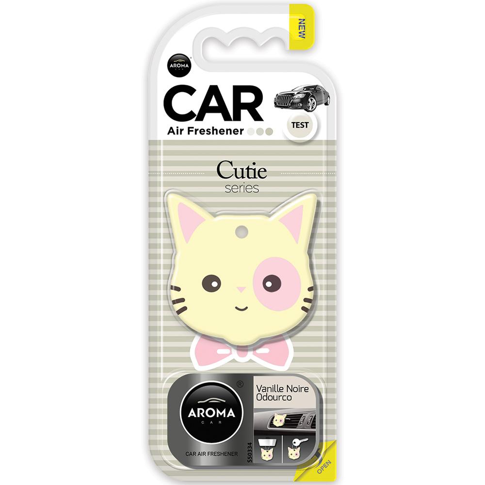 #83194 - Cutie Air Fresheners, 3-In-1. Vanilla Scent