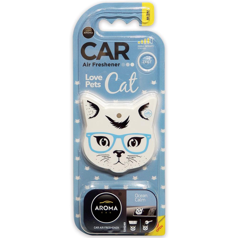 #92569 - Love Pets / Cat Air Freshener, 3-In-1, Ocean Calm Scent