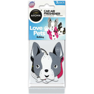 #83842 - 3Pack Love Pets / Bulldogs Air Fresheners